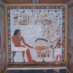 Malarstwo ibarwny relief wEgipcie