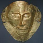 Maska z grobowca w Mykenach